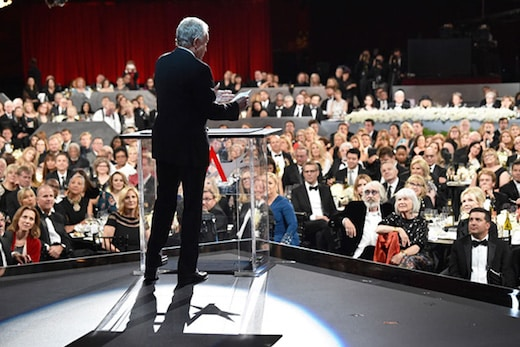 Warren Beatty returns to the scene of the Oscar fiasco, again facing a crowd of the most influential people in the film industry at the AFI Life Achievement Award on June 8, 2017.