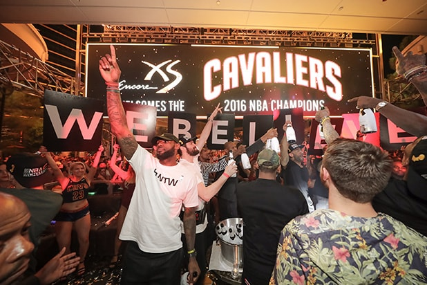 Cavs win Vegas