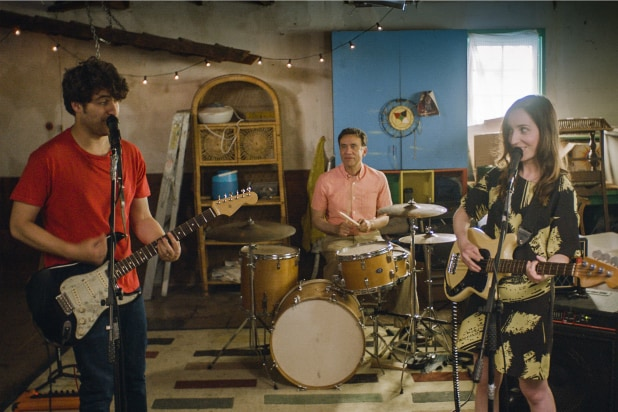 Band Aid Review Zoe Lister Jones And Adam Pally Channel Marital