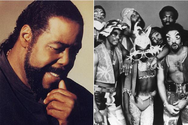 Barry White Parliament Funkadelic