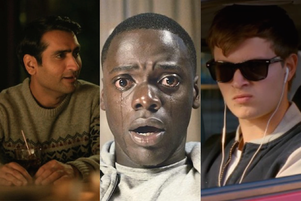 Big Sick Get Out Baby Driver