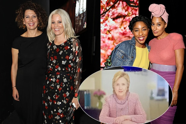 COVER - Hillary Clinton Message to Women In Film
