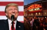 Donald Trump Chicago Cubs