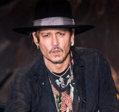 johnny depp at Glastonbury Festival 2017 - Day 1