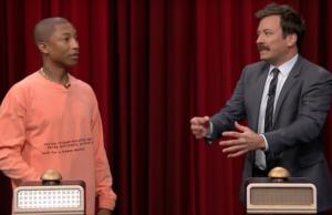 Jimmy Fallon Pharrell Williams Tonight Show