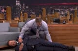 John Cena and Jimmy Fallon