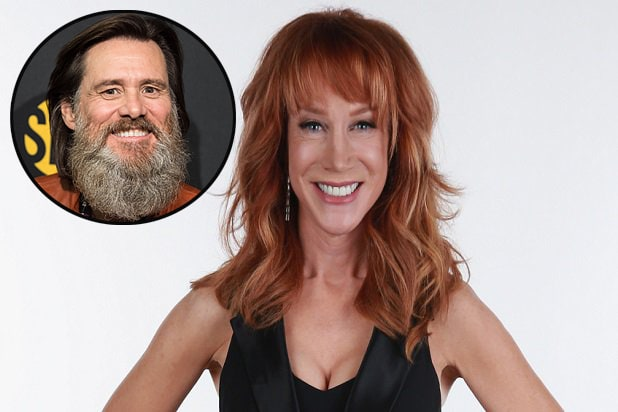 Kathy Griffin and Jim CareyKathy Griffin and Jim Carey