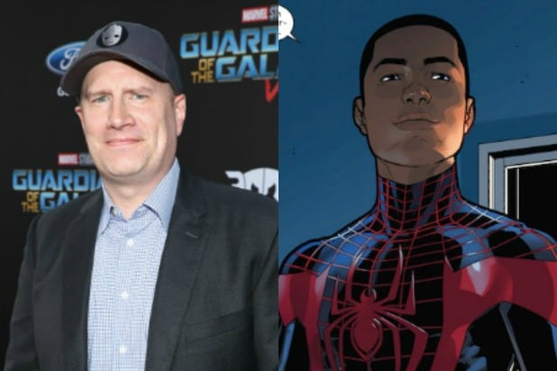 Kevin Feige Miles Morales