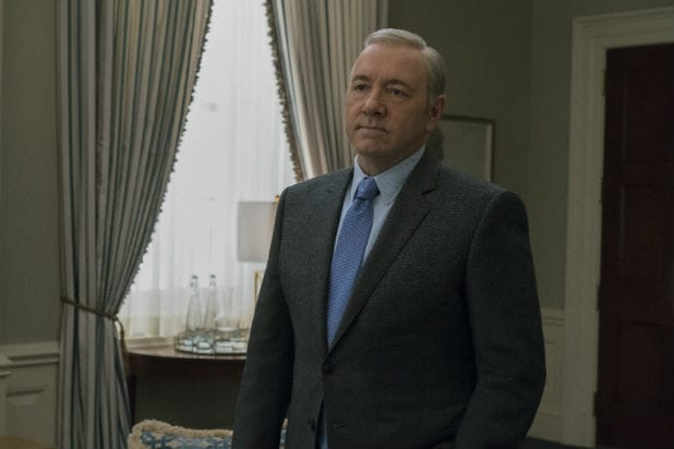 Kevin Spacey House of Cards how they wrote frank underwood out