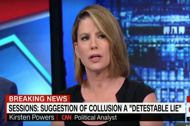 Cnns Kirsten Powers Slams Trump Surrogate Over Gendered