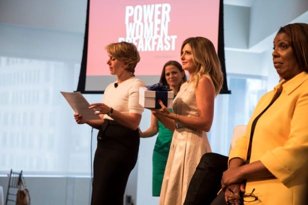 power women breakfast nyc