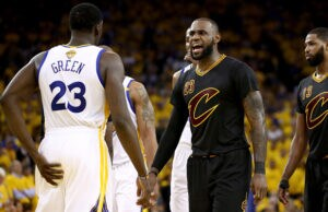 NBA Finals Golden State Warriors and Cleveland Cavaliers