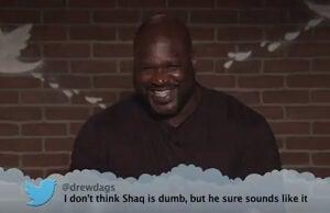 NBA Mean Tweets Shaq