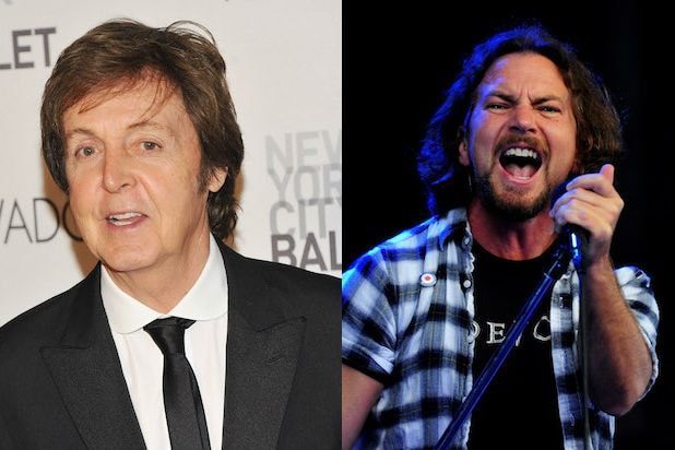 Paul McCartney Once Punched Eddie Vedder in the Face (Audio)