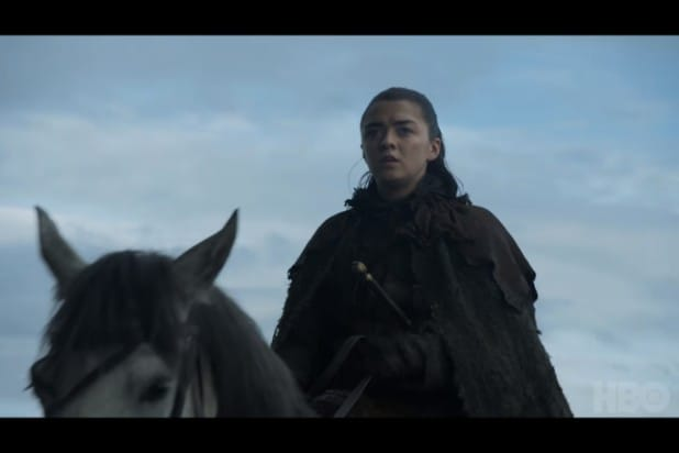 game of thrones trailer arya stark