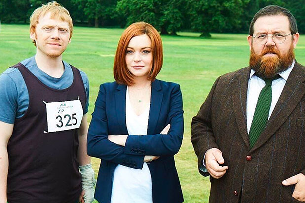 Lindsay Lohan joins Rupert Grint in Sick Note comedy