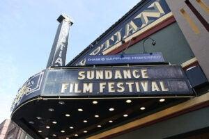 Sundance Film Festival sign
