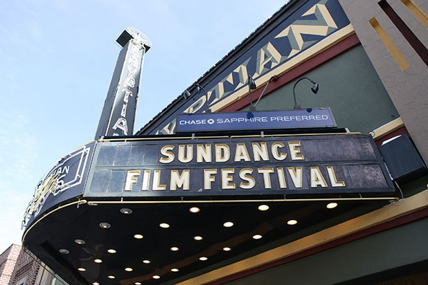 Sundance Film Festival sign