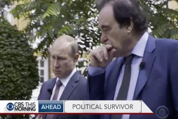 Vladimir Putin Oliver Stone