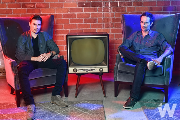 Josh Henderson and Michael Vartan, The Arrangement