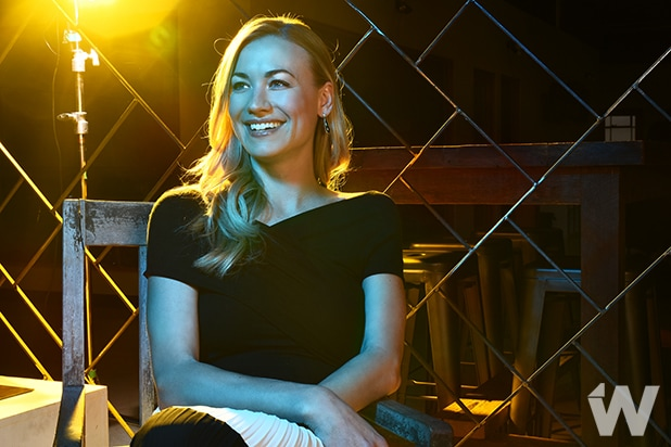 yvonne strahovski handmaid's tale Photographed by Irvin Rivera for TheWrap