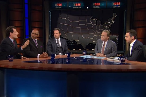 bill maher controversial statements islamophobia ben affleck