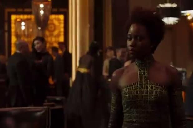 black panther trailer lupita nyong'o