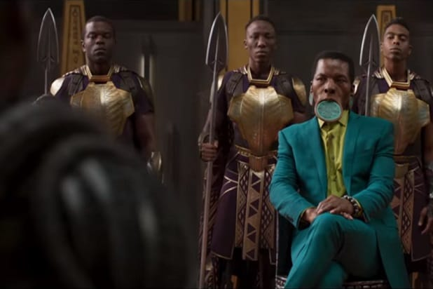 black panther trailer this dude Isaach De Bankolé