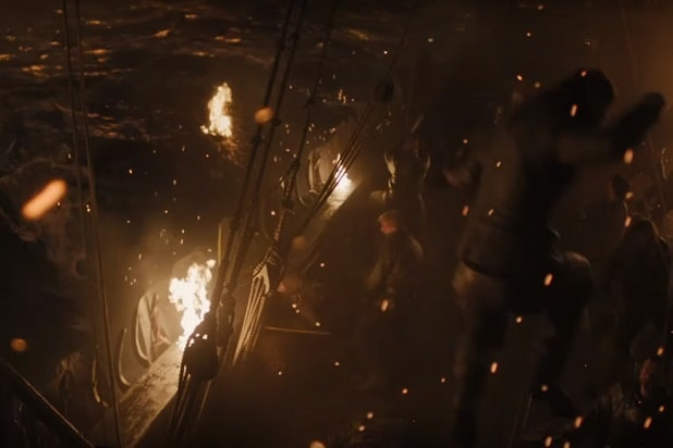 game of thrones trailer battle at sea