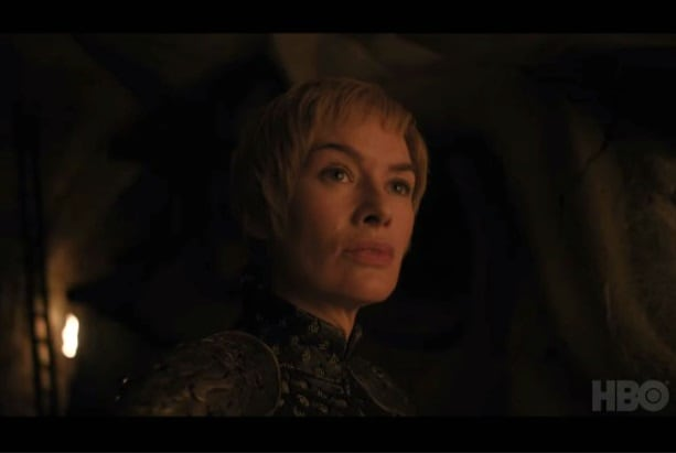 game of thrones trailer cersei underground