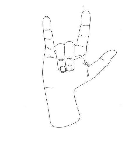horns hand gesture
