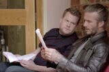 James Corden David Beckham