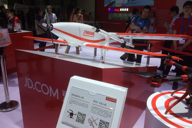 JD JDrone CES Asia