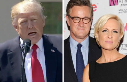 Mika And Joe Wedding.Trump Denies He Was Asked To Marry Morning Joe Co Hosts