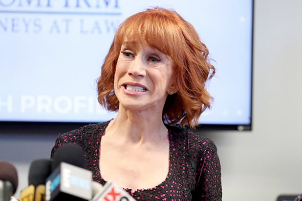 Charges dropped against comedian Kathy Griffin over bloody Trump head photo