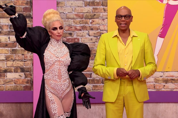 Lady Gaga RuPaul's Drag Race