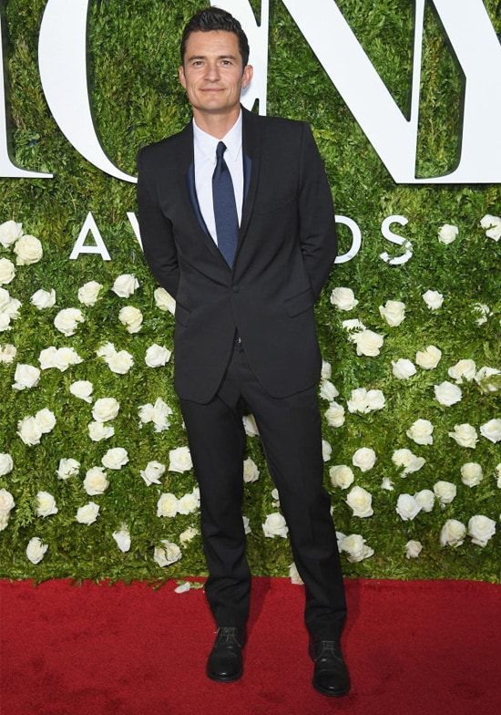 orlando bloom tony awards