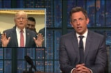 Seth Meyers Donald Trump health care