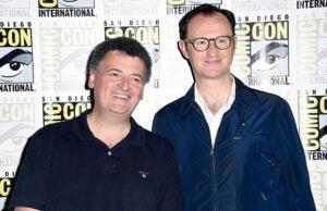 Steven Moffat Mark Gatiss