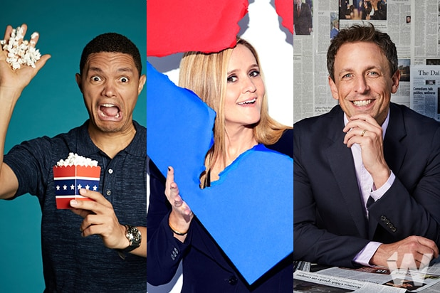 late shift samantha bee seth meyers trevor noah