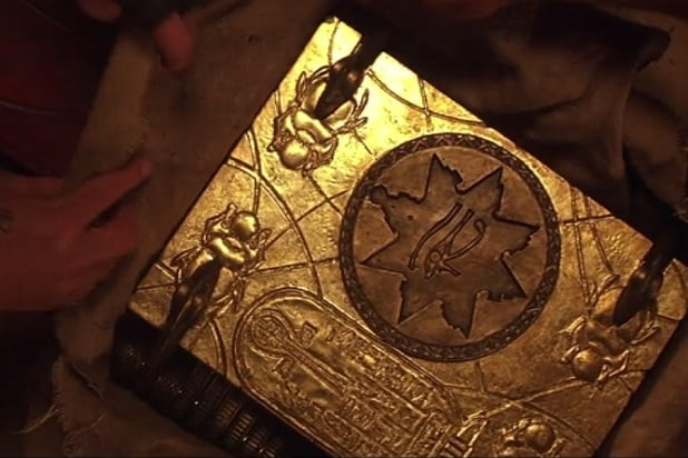 the mummy easter egg gold book of life amun ra 1999