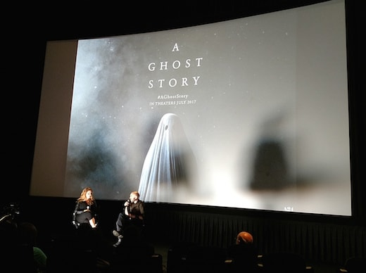"David Lowery discusses ""A Ghost Story"" and his Adobe post-production workflow at a special screening at the Arclight Hollywood on Tuesday, July 18, 2017. (Mikey Glazer)"