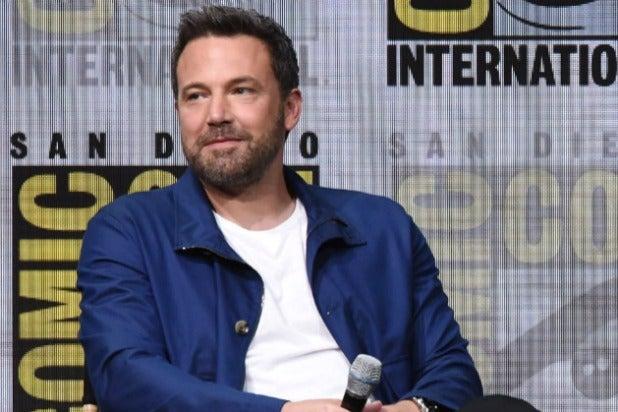 Ben Affleck Comic-Con 2017