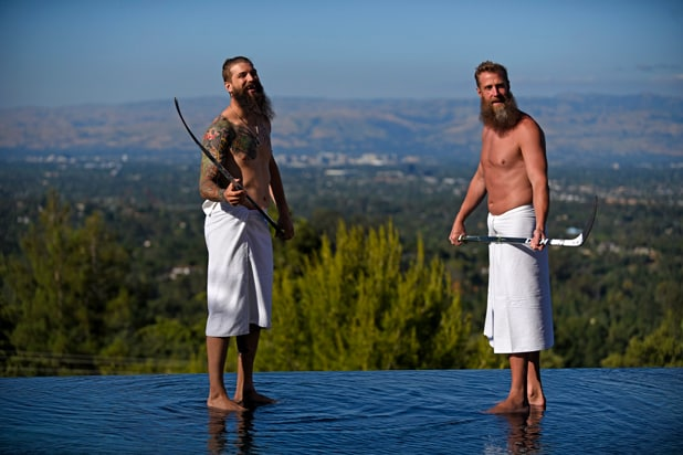 Joe Thornton and Brent Burns Body Issue