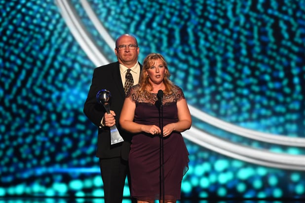 Brent and Lisa Hill ESPYs