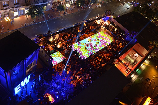 A view of the EW Party at Comic-Con 2016. (Getty Images)