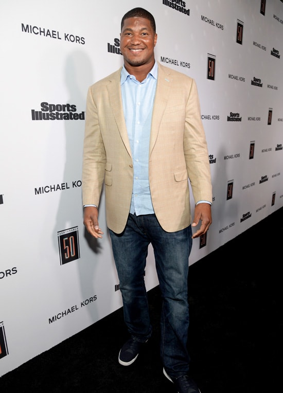 Calais Campbell Sports Illustrated 2017 Fashionable 50 Celebration