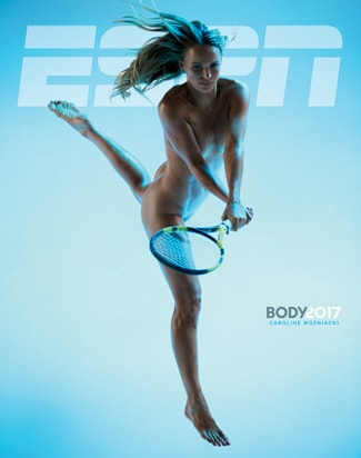 Caroline Wozniacki ESPN Body Issue Cover