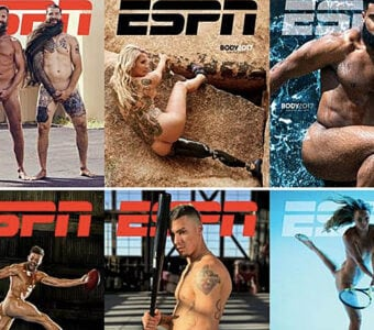 ESPN the Magazine Body Issue Covers Montage