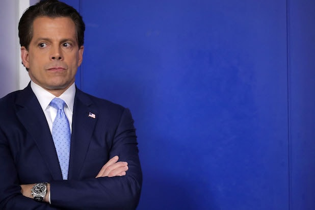 Anthony Scaramucci's time in the White House could be a movie